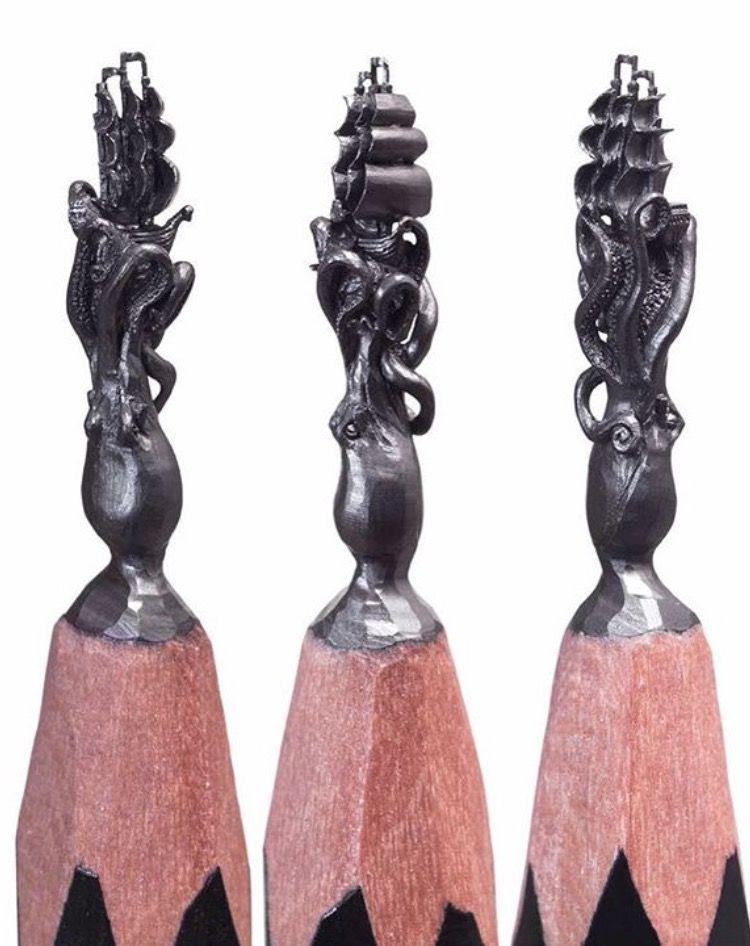 это фигуры на грифеле карандаша фото гид весело