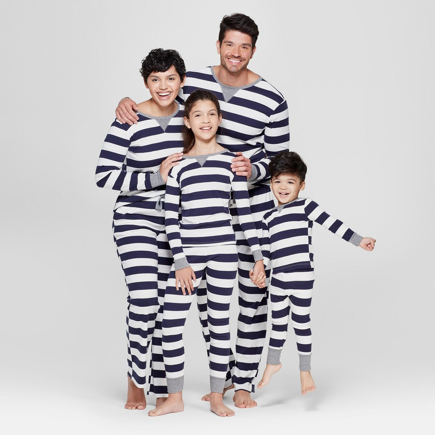 Women's Striped Pajama Set Navy Target (With images
