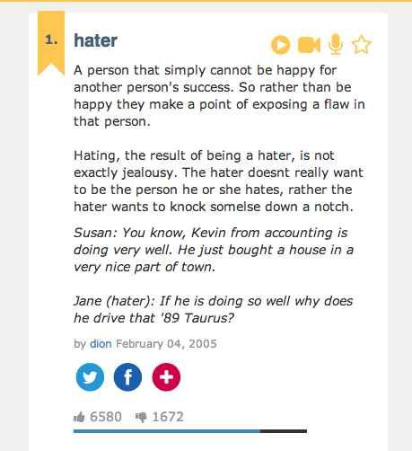 Signs that show hatred