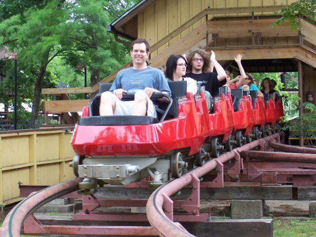 Mini Mine Train From Six Flags Over Texas Six Flags Over Texas Six Flags Theme Park