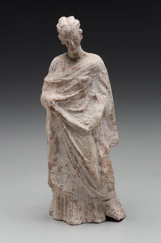 Draped standing woman Greek, East Greek, Hellenistic