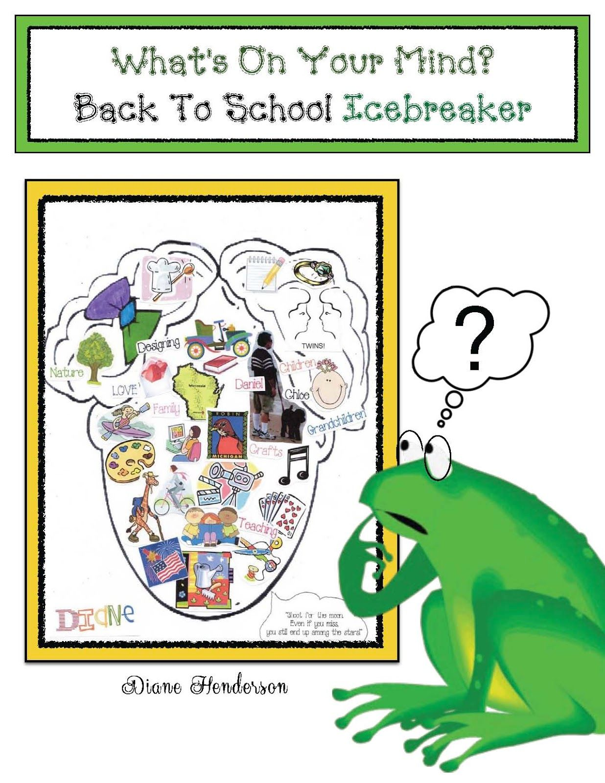 What S On Your Mind Back To School Icebreaker