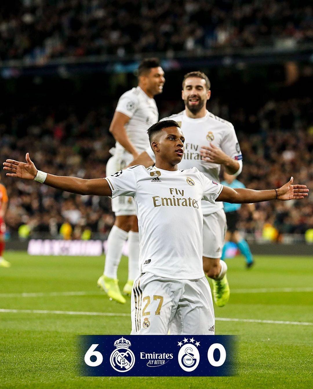 40k Likes 1 472 Comments Real Madrid C F Realmadrid On Instagram Real Madrid 6 0 Galatasaray 4 Rodrygogoe Real Madrid Futebol Espanhol Vinicius Jr