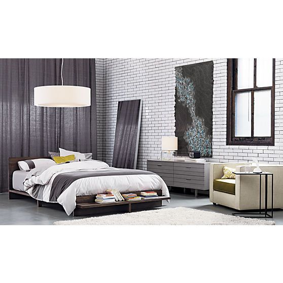 Best Concrete Low Dresser Cb2 Guest Bedroom Modern 640 x 480