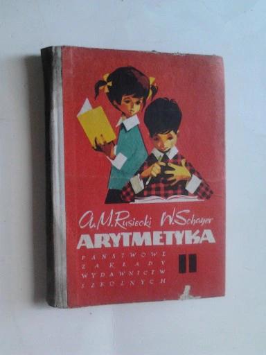 Arytmetyka 2 Rusiecki Schayer 1970 8425721513 Oficjalne Archiwum Allegro Book Cover Books Cover