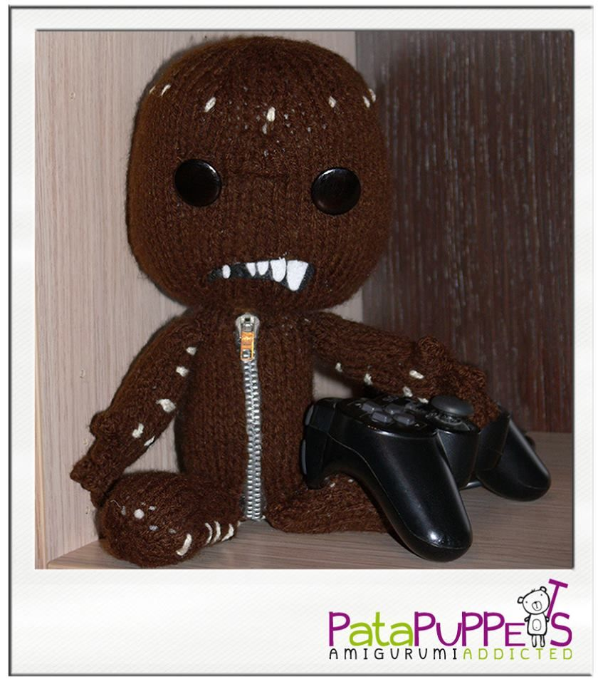 Pata version of Sackboy from Little Big Planet! | PataPuppets ...