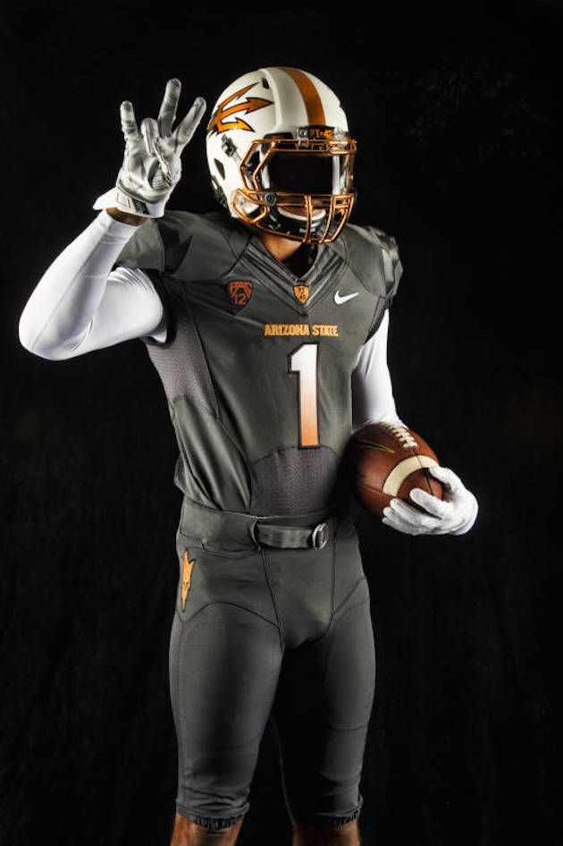 Arizona State Unveils New Copper Themed Uniforms For 2014 15 Season