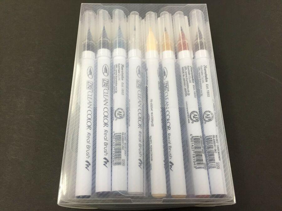 Kuretake ZIG Clean Color Real Brush Pen Set RB-6000AT 12VA 24V 36V 48V 60V 80V
