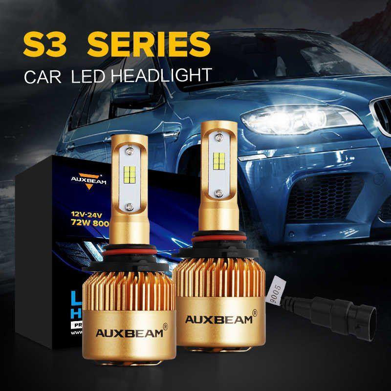 2pcs Set Auxbeam S3 Series 9005 Hb3 H10 Philips Csp Headlight