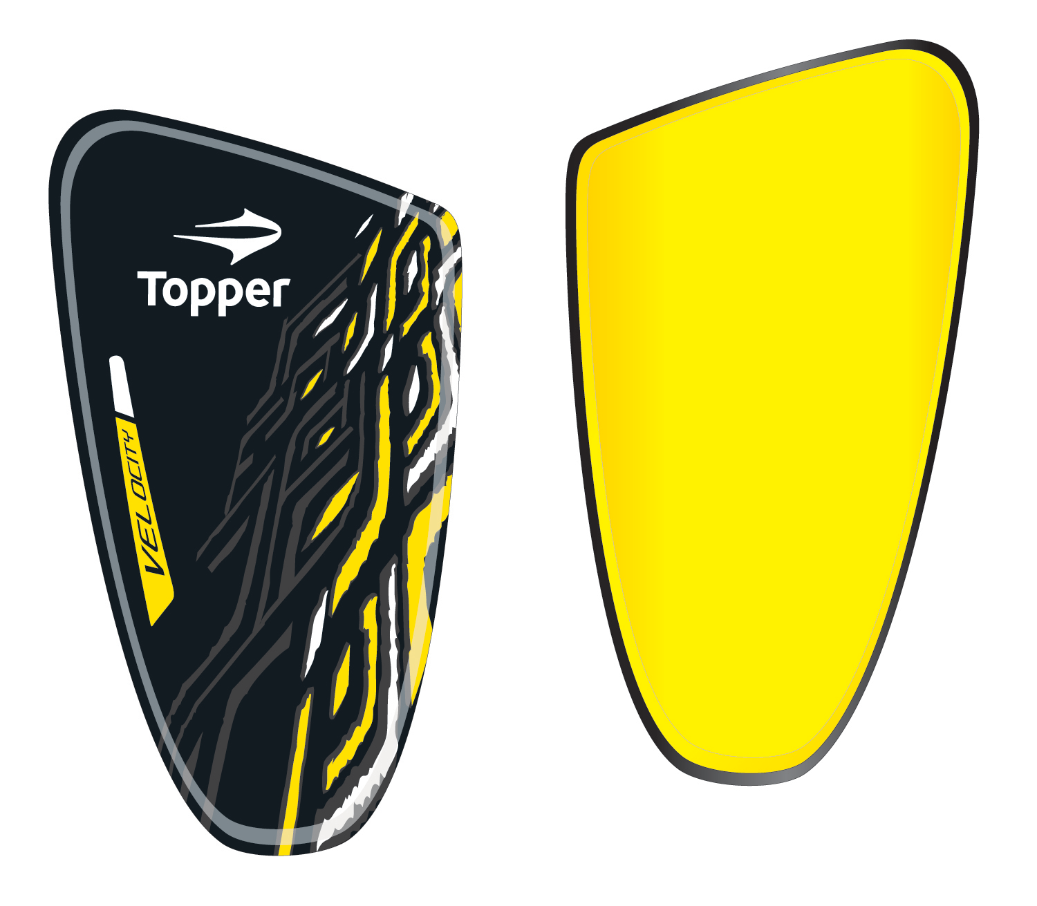 Caneleira Topper Velocity Ii Shin Guards Guard Topper