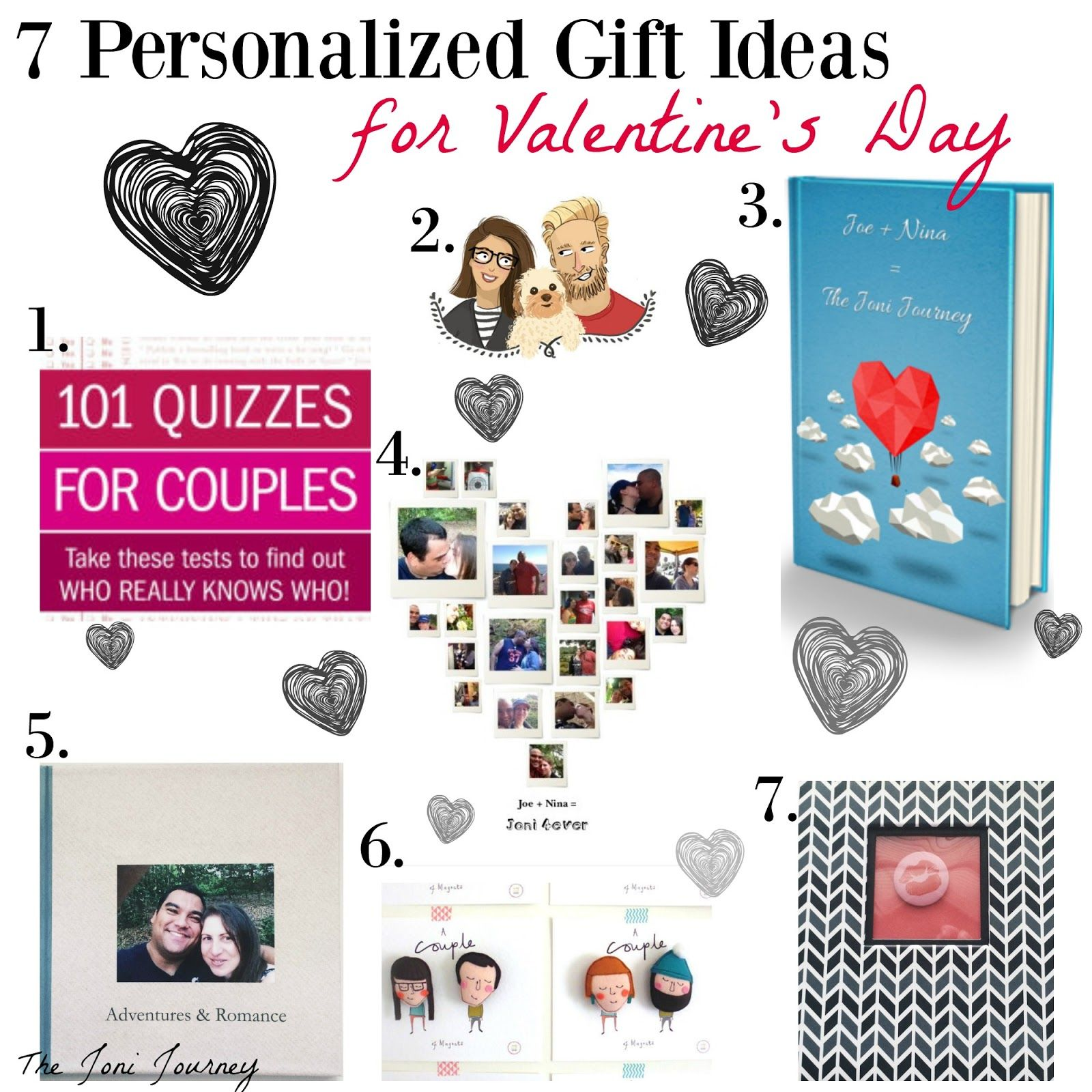 The Joni Journey: Personalized Valentine's Gift Ideas - meaningful Valentine's gifts for your spouse, DIY Valentine's Gift ideas