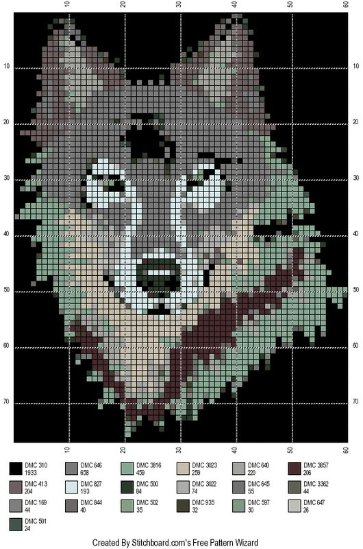 Wolf cross stitch   Counted Cross Stitch to try   Beaded cross stitch  Cross stitch patterns