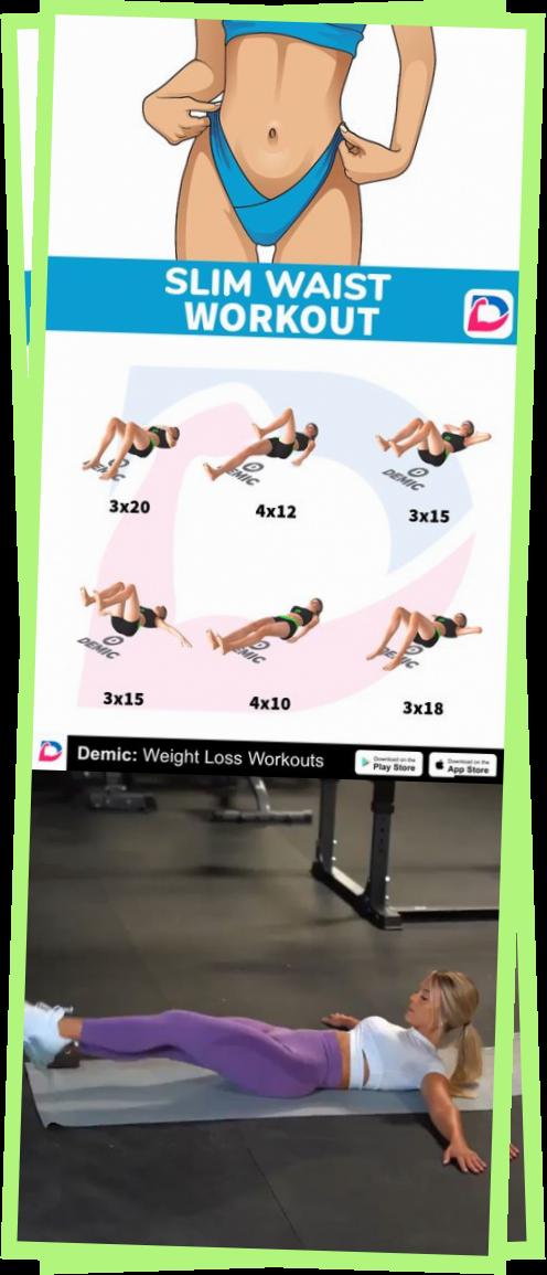 #bellyfat #fatburn #burnfat #weightlose #fitness #workout #demicapp  #Slim #Waist #Workout #autotatt...