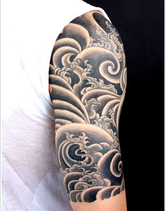 shoulder sleeve water tattoo designs tattoo designs tattoo and tatting. Black Bedroom Furniture Sets. Home Design Ideas