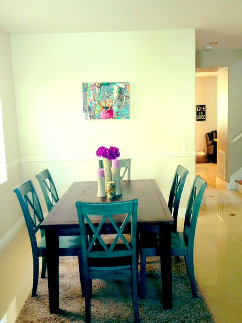 Dining room #home #withloveauntmegs