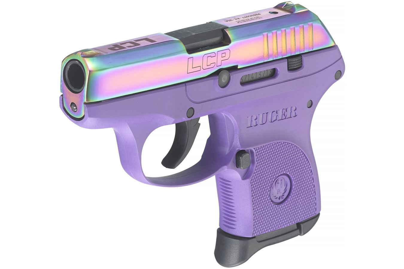 Ruger LCP 380 ACP with Purple Color Cased Slide | Sportsman's