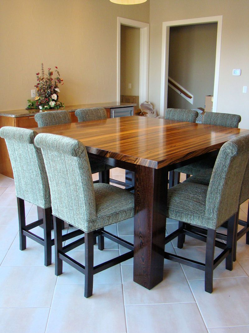 Contemporary Butcher Block Dining Room Table Soapstone Del Or