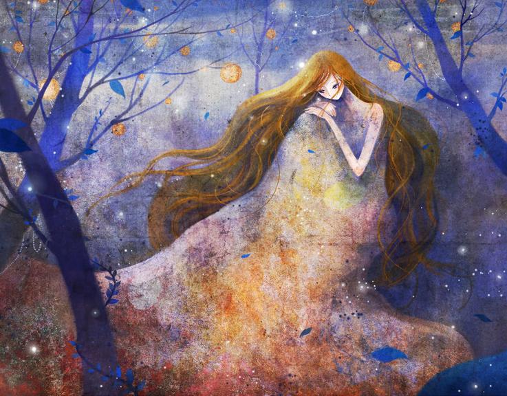 © Kim Yoon-Hee (http://blog.naver.com/yh100417). #Girl #Girls #Tree #Trees