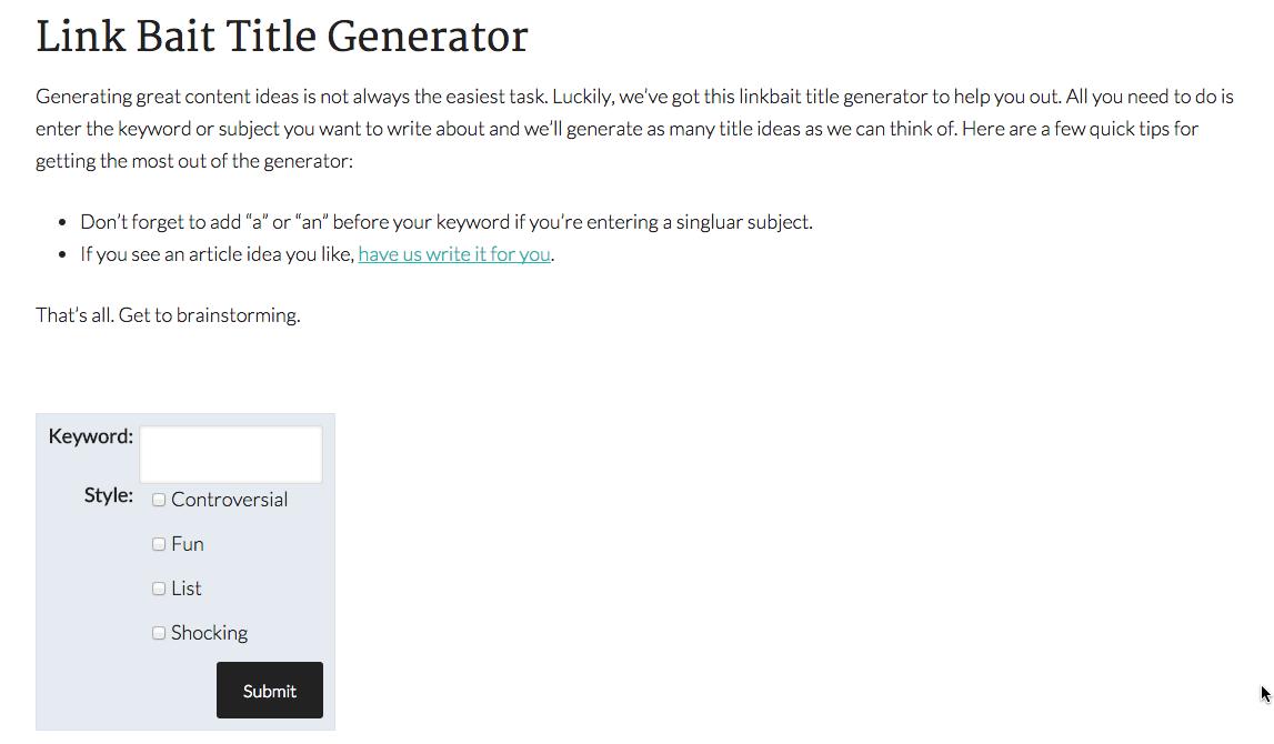 8 blog topic generators for blog post idea inspiration httpwwwwordstreamcomblogws20150212blog topic generators blog