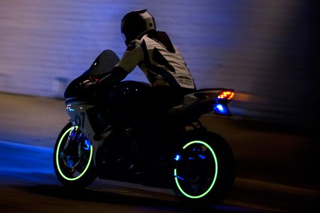 Create your own tron bike with these glowing sci fi strips tron create your own tron bike with these glowing sci fi strips autopia wired aloadofball Image collections