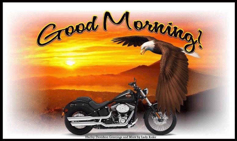 Good Morning Harley Davidson Images Good Morning Cards Harley Davidson Quotes