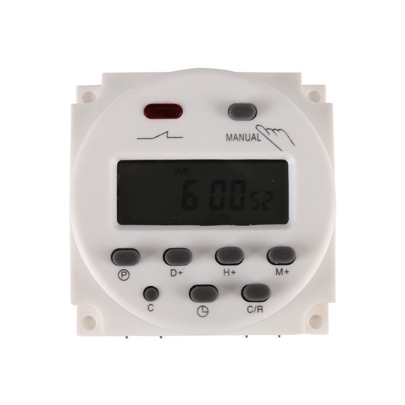 5 99 Cn101aest Digital Lcd Power Programmable Timer Dc 12v 220v Time Relay Switch Ebay Home Garden With Images Timer Lcd Portable Ac