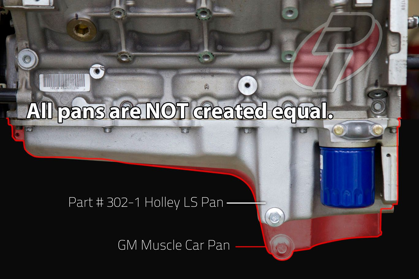 Holley 3021 LS RetroFit Oil Pan – Ly6 Engine Diagram