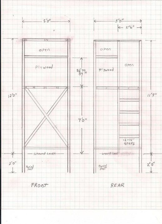 Free Deer Hunting Stand Plans Hunting Stands Deer Stand