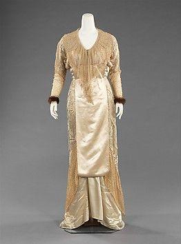 Designer: Jacques Doucet (French, Paris 1853–1929 Paris) Date: ca. 1910 Culture: French Medium: silk, fur, linen