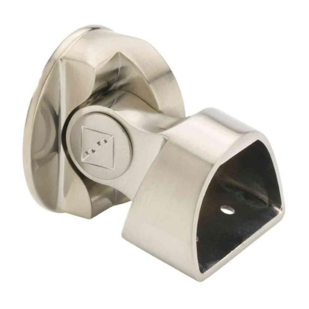 Best Fusion Brushed Nickel Suspended Base Rail Connector 400 x 300