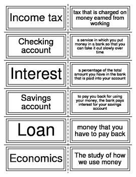 Free Economics Unit Flashcards Economics Lessons Flashcards Economics Vocabulary