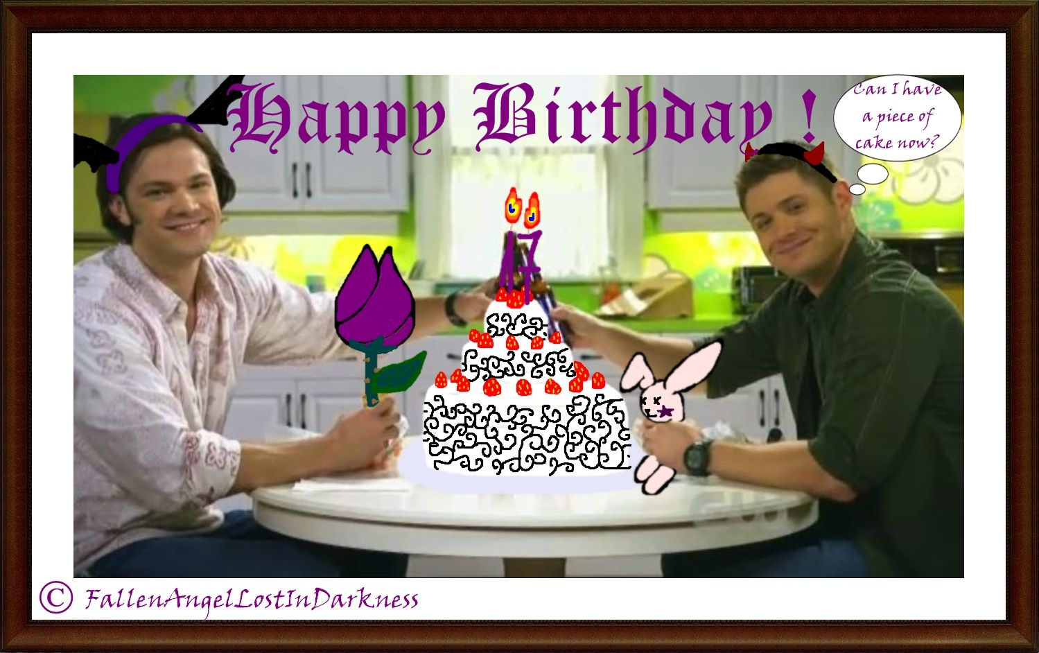 Pin By Rebecca Veight On The Family Business Supernatural Happy Birthday Supernatural Birthday Birthday