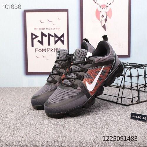 e3479c5e126 Mens Winter Nike Air VaporMax 2019 Sneakers Carbon grey orange white black  - NikeDropShipping.com