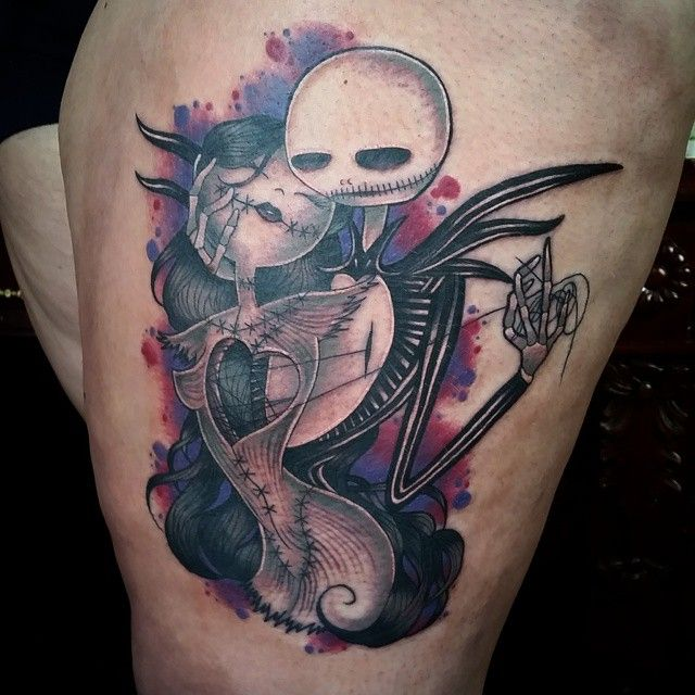 50 Funny Nightmare Before Christmas Tattoo Design Ideas - Choose ...