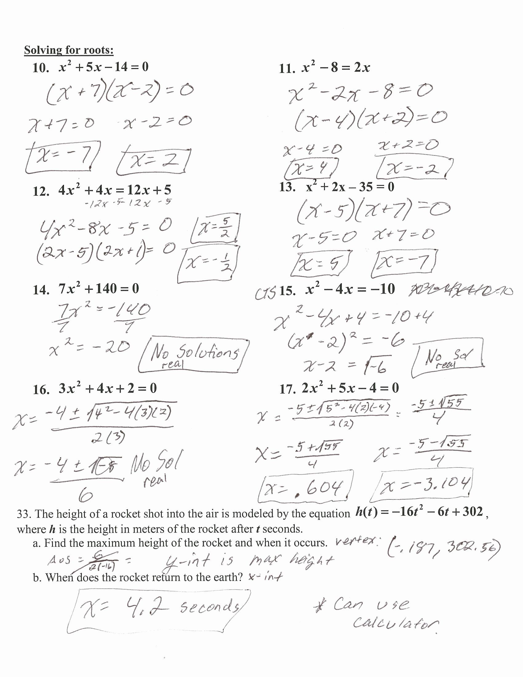 50 Algebra 1 Review Worksheet In