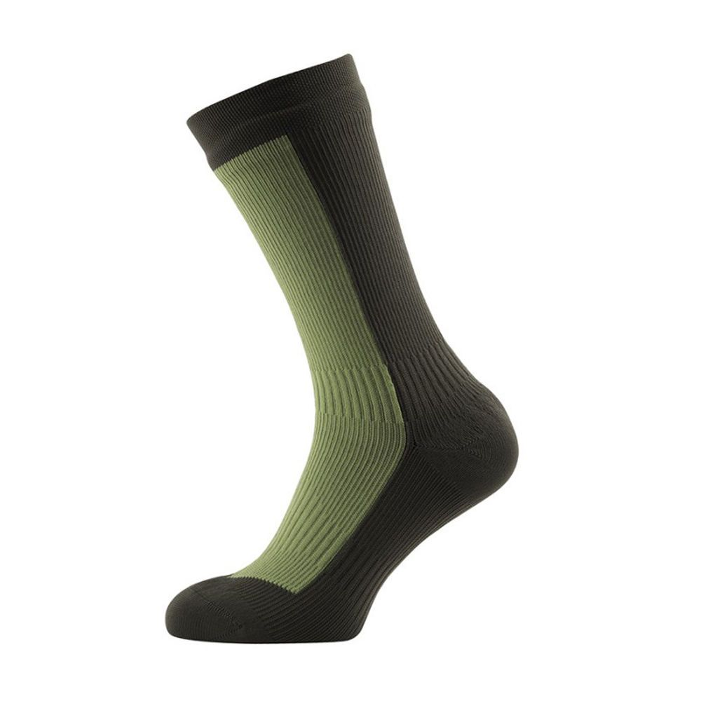 Socks 181362: Sealskinz 100% Waterproof And Breathable Hiking Mid Mid Olive  Green Size Small