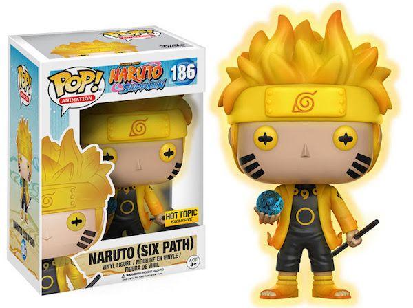 Naruto Shippuden Funko Pops Include Sage Mode Naruto Funko Pop