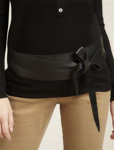 Large ceinture en cuir spécial grossesse - camel   Pinterest ... f8f86b0abc3