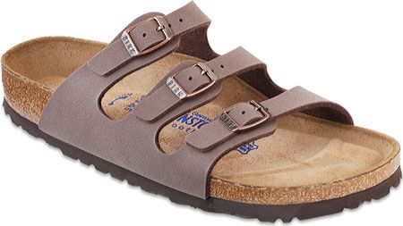 8d2fea789 Women's Birkenstock Florida Birkibuc Soft Footbed - Mocha Birkibuc with FREE  Shipping & Exchanges. Experience maximum comfort in Birkenstock's Florida  ...