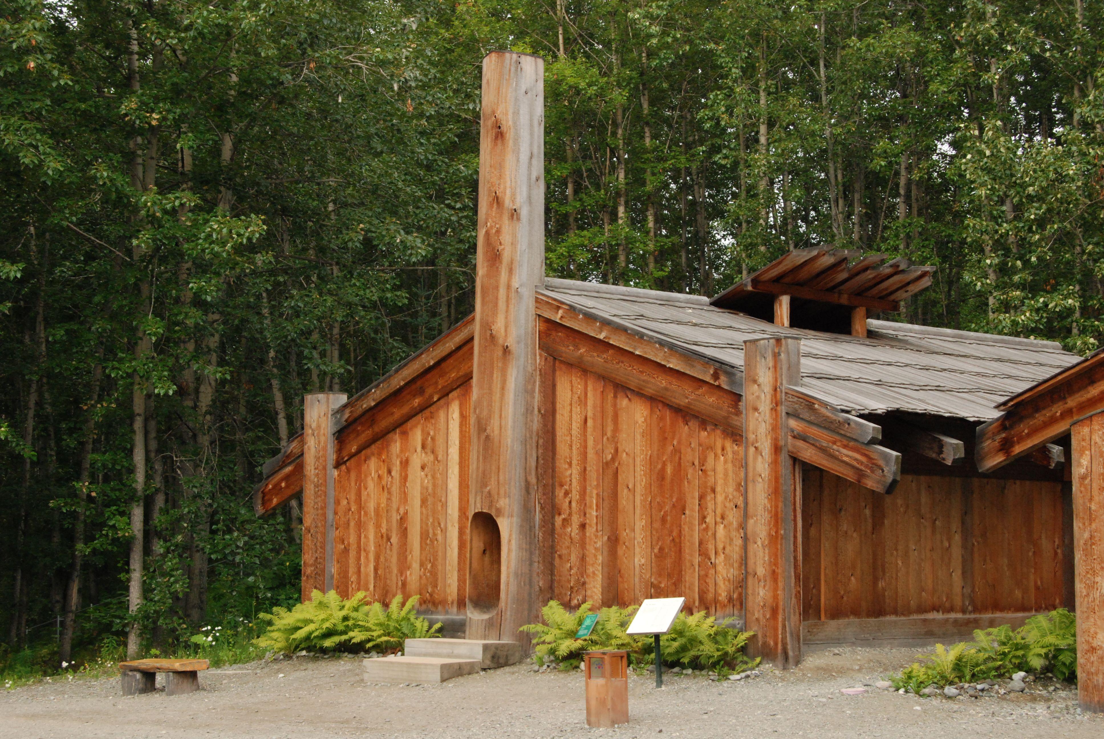 Haida Longhouse Google Search Alaska Heritage Center Outdoor