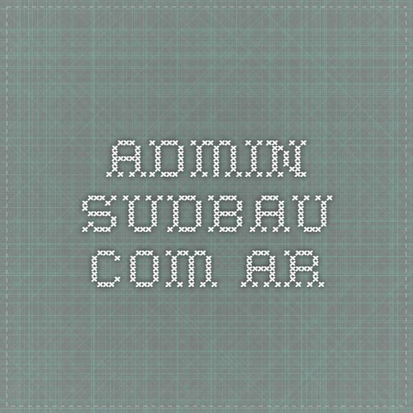 admin.sudbau.com.ar