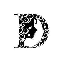 Baby Blocks Letter D Clipart Black And White Letter D Pinterest