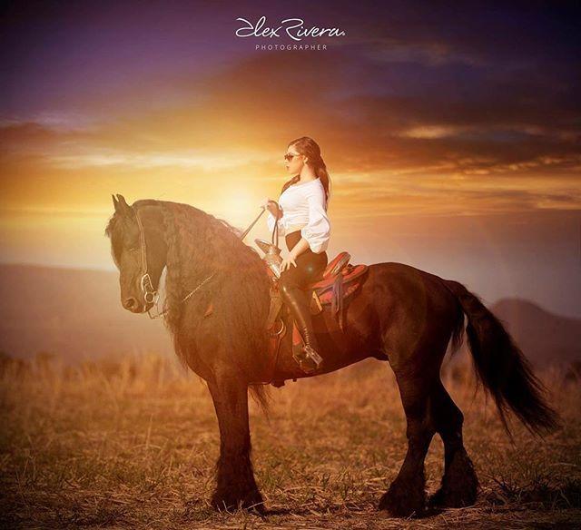 Instagram media by alexriverafotografo - Espectacular y mágica foto. Es increíble lo que podemos lograr con nuestra naturaleza. @silviaibarrai @alexandercmillan #makeup #alexrivera #alexriverafotografo #byart #missxv #horses #xv #atardecer #lamasbella