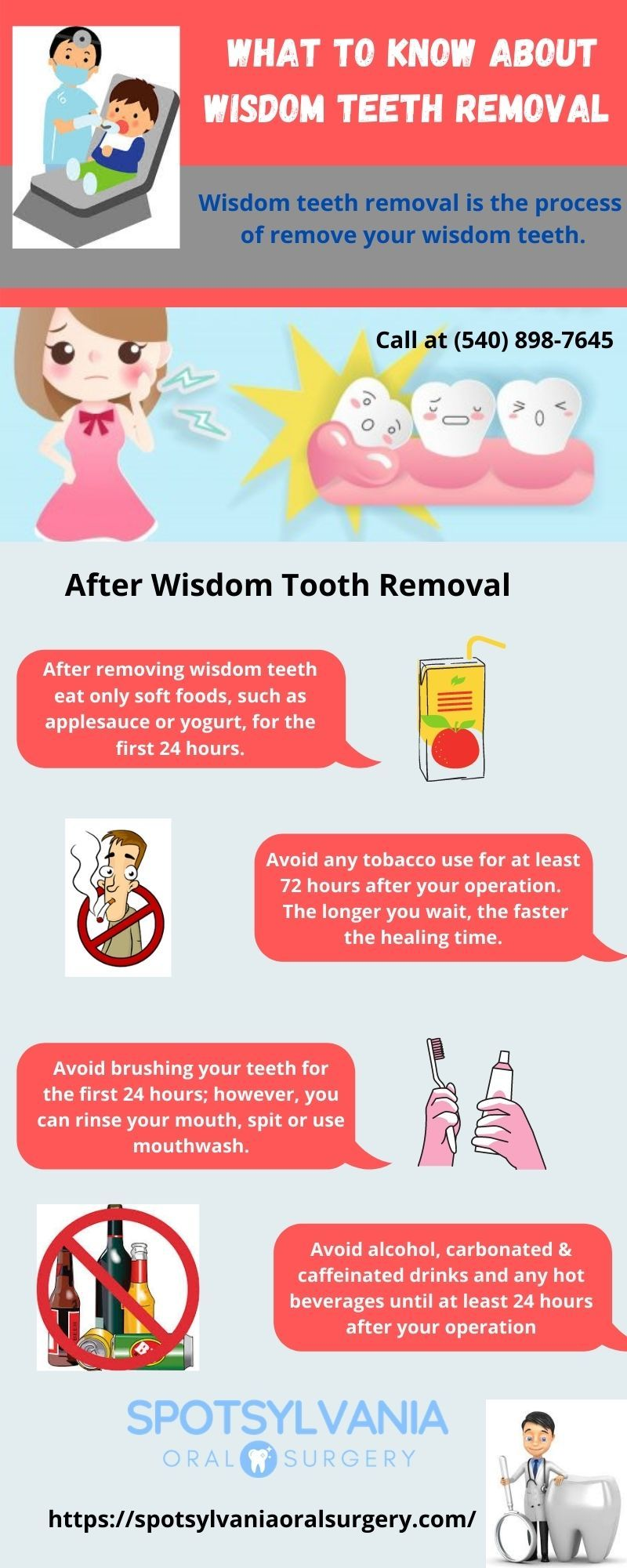 Wisdom Teeth Removal Is The Process Of Removing Your Wisdom Teeth After Removing Wisdom Teeth Eat Only Dental Surgeon Dental Emergency Emergency Dental Care