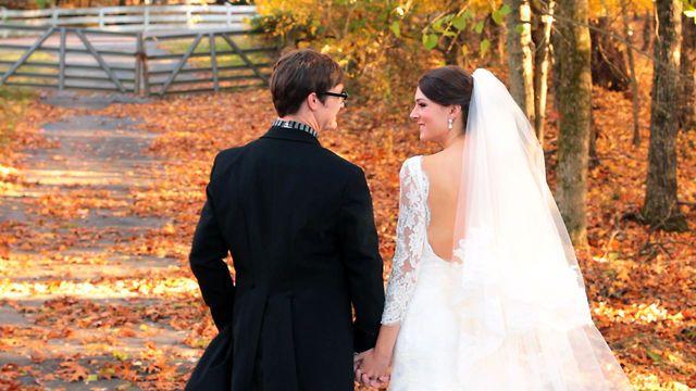 A gorgeous fall wedding Windy Toms sneak peek video Memphis