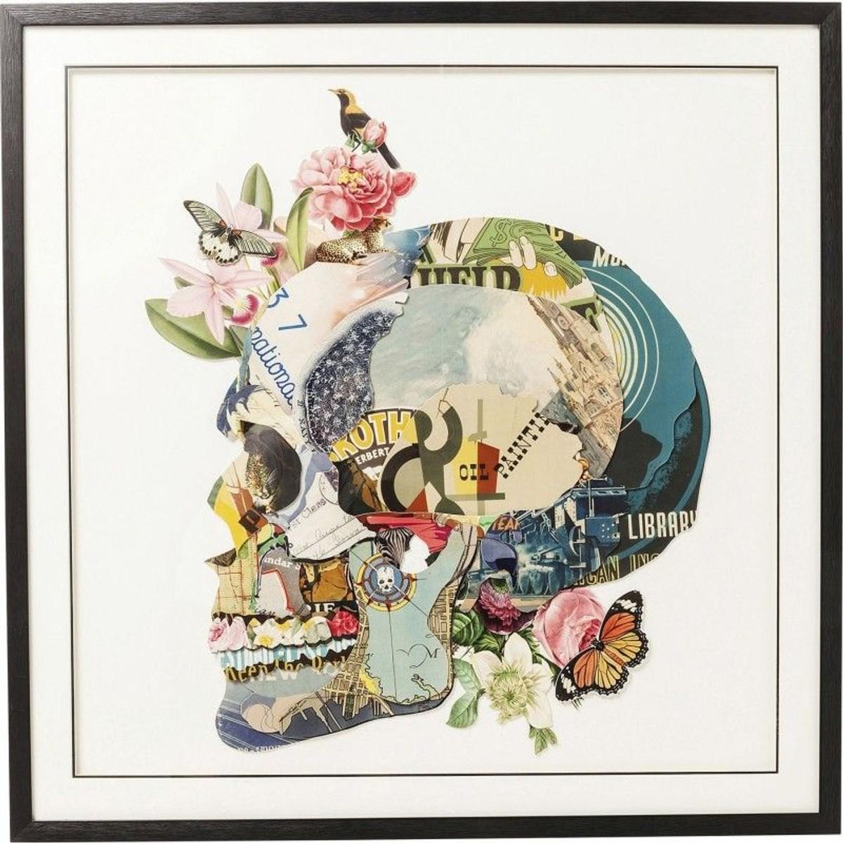 Tableau Frame Art Crane 100x100cm Collage Des Photos Art