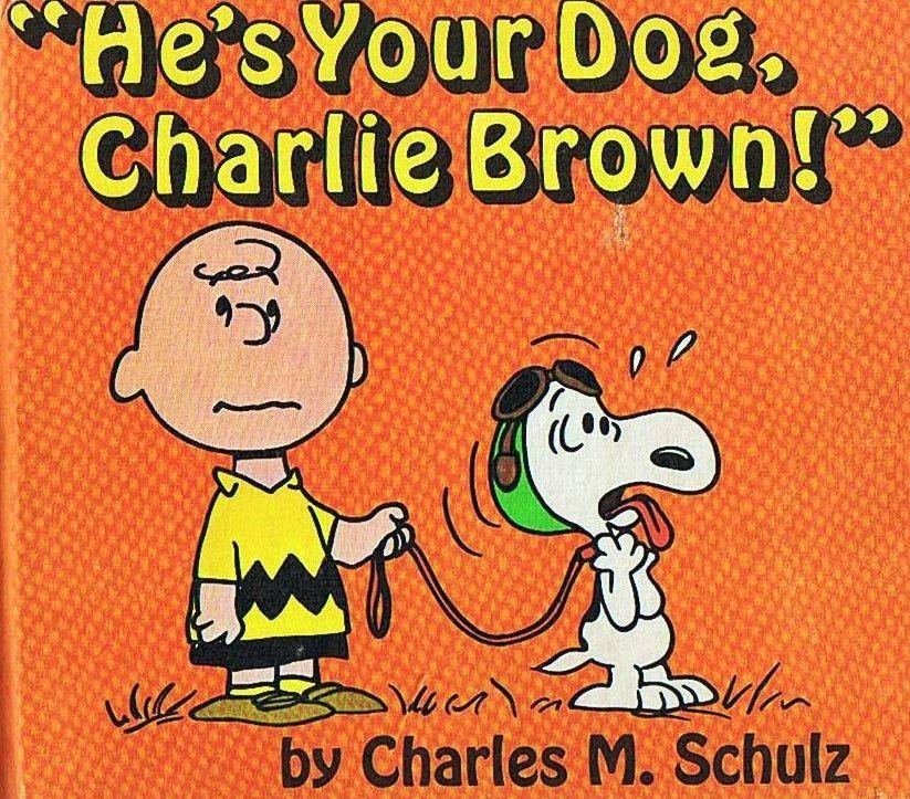 Ipi CHARLES SCHULZ HE'S YOUR DOG CHARLIE BROWN The Ipi House Extraordinary Ipi Quote