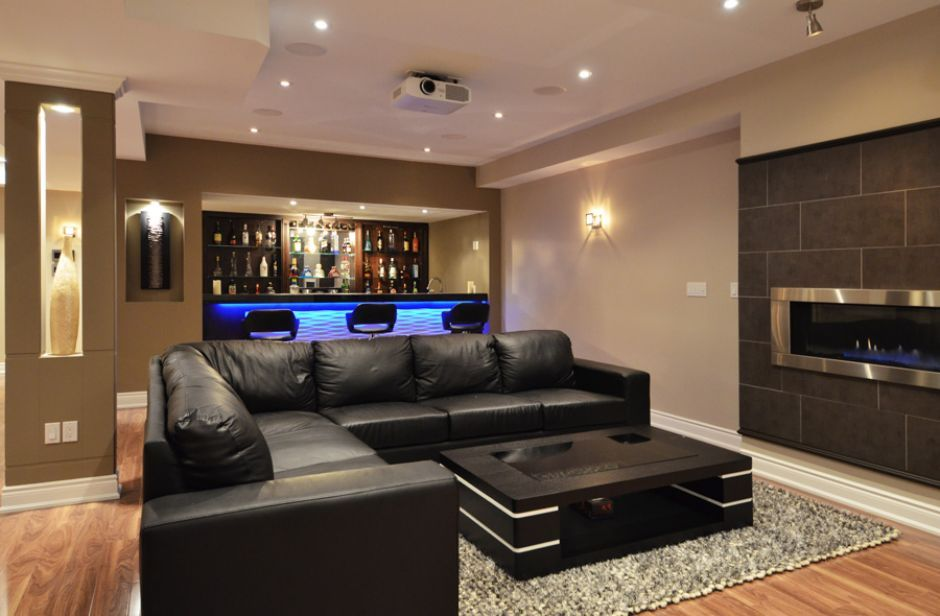 21 stunning contemporary basement designs basements design design rh pinterest com