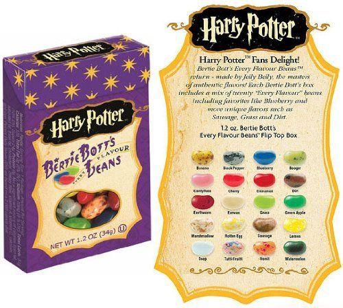Harry Potter Bertie Botts Bohnen Verschiedene Geschmackssorten Jelly