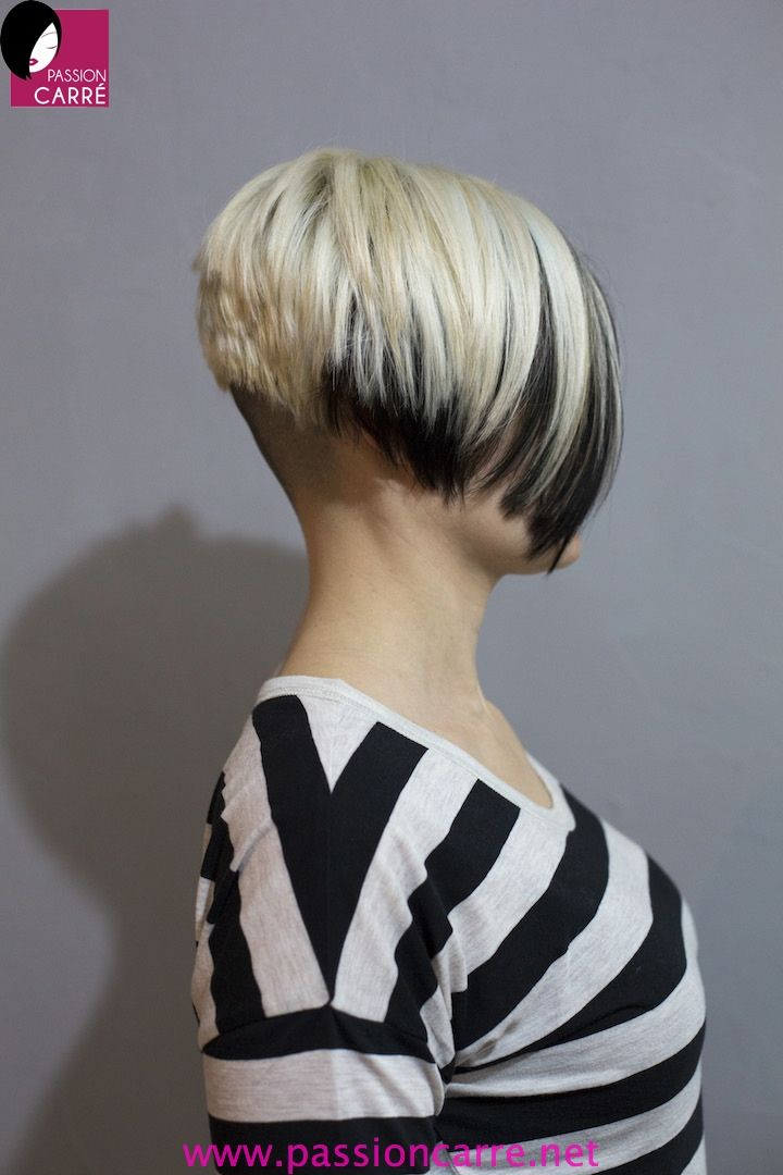 Short Bob Haircut With Shaved Nape The Best Haircut Of 2018